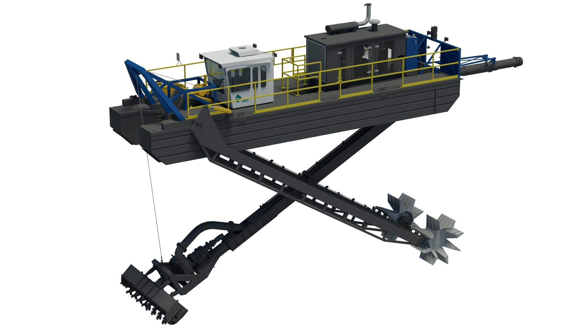 IMS- Model 7012 HP Versi-Dredge 00