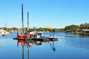 Eau Gallie River dredging gets underway