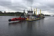 Cavache Kicks Off Bakers Haulover Inlet Dredging